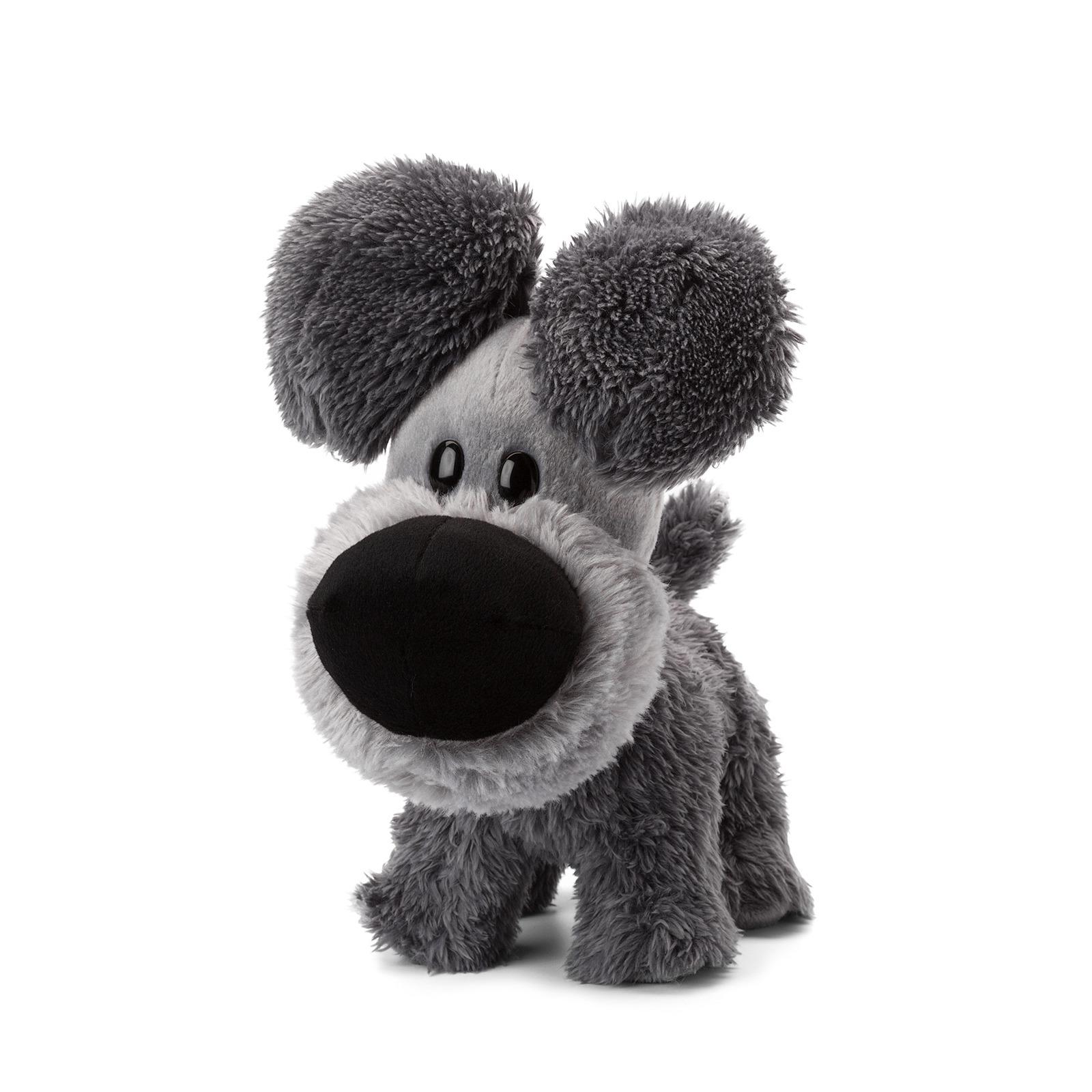 Pluche Woezel knuffel grijs 23 cm