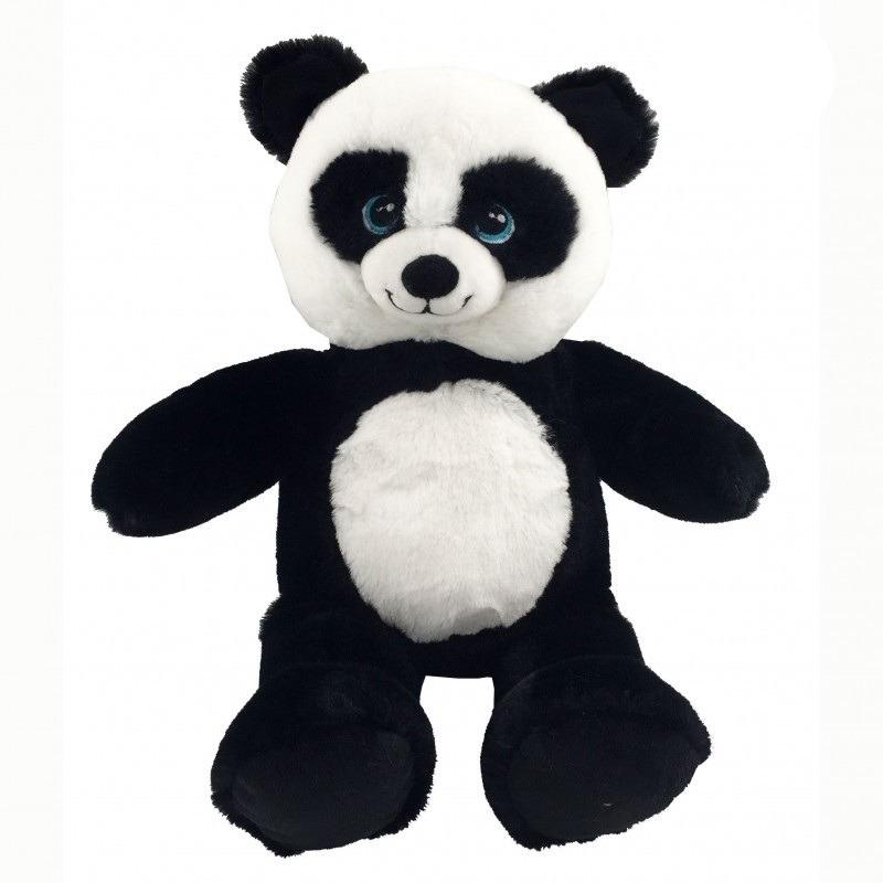 Pluche zwart/witte panda/beren knuffel 40 cm speelgoed