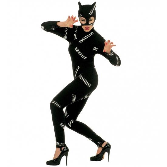 Poezen outfit zwart Catwoman