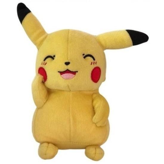 Pokemon speelgoed artikelen Pikachu knuffelbeest 20 cm