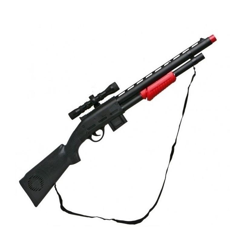 Politie/soldaten speelgoed verkleed geweer