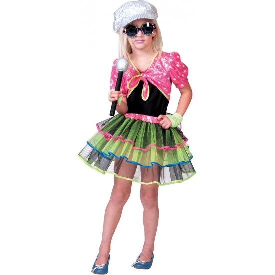 Popster kostuum voor meisjes