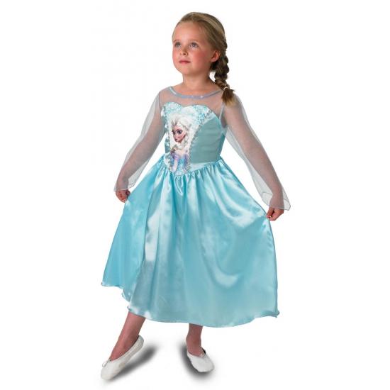 Prinsessen Feest kostuum Elsa voor meisjes