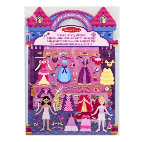 Prinsessen sticker set