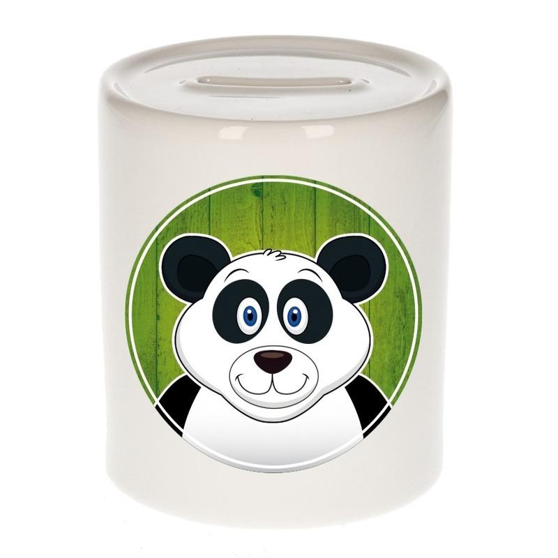 Reuze panda kado spaarpot voor kinderen 9 cm