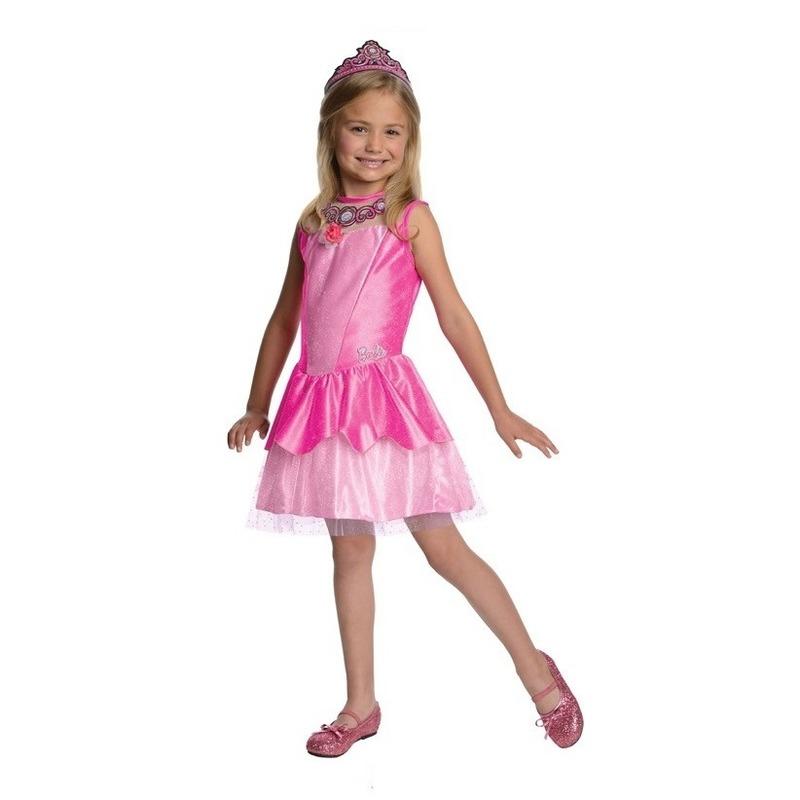 Roze prinsessen jurkje voor meisjes