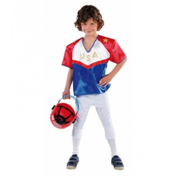 Rugby speler carnavals kostuum