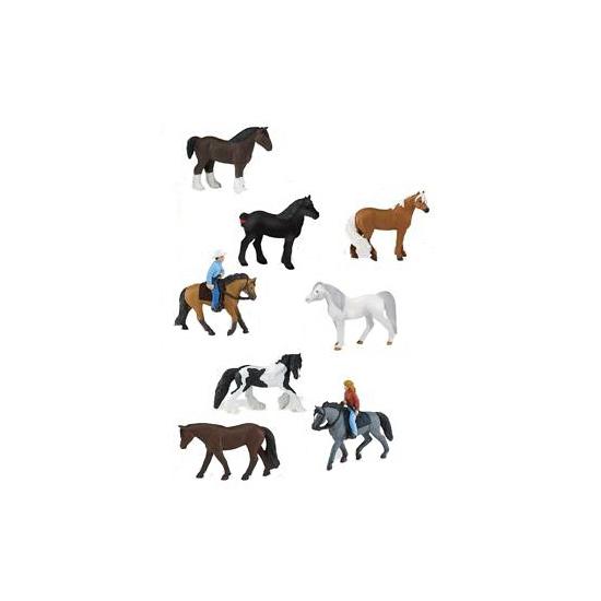 Ruiters en paarden setje