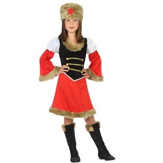 Russische Kozakken verkleed jurk voor meisjes