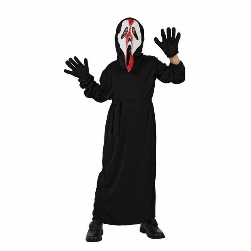 Schreeuwend spook kostuum voor kinderen