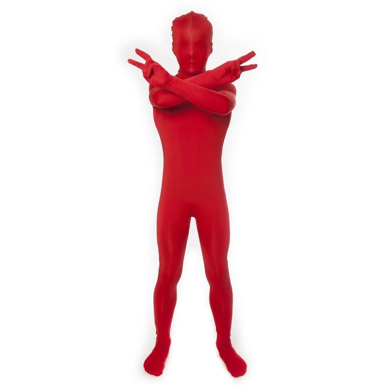 Second skin pak rood voor kids
