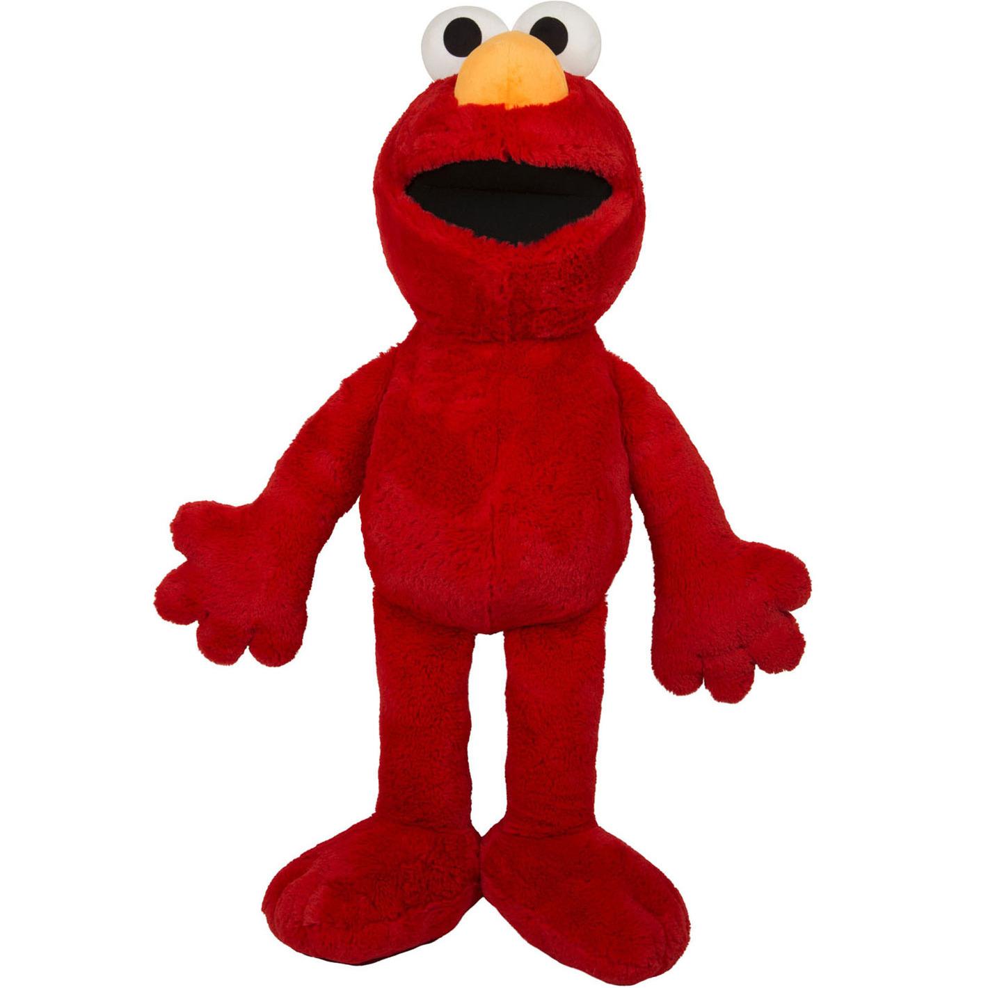 Sesame Street speelgoed artikelen Sesamstraat Elmo knuffelbeest rood 100 cm