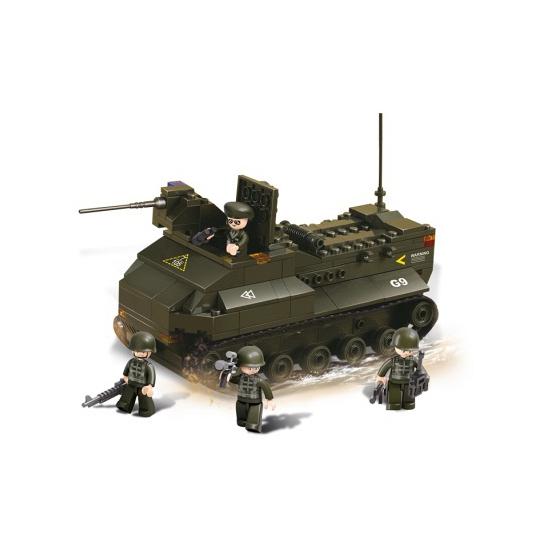 Sluban leger soldaten pantservoertuig