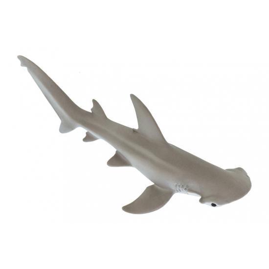 Speelgoed figuur Hamerhaai van plastic 13 cm