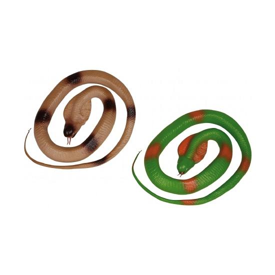 Speelgoed slangen groen 117 cm