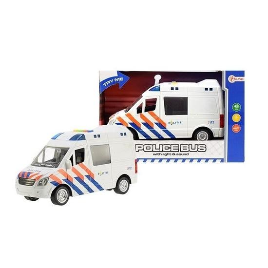 Speelgoedauto politiewagen 17 x 28 x 12 cm