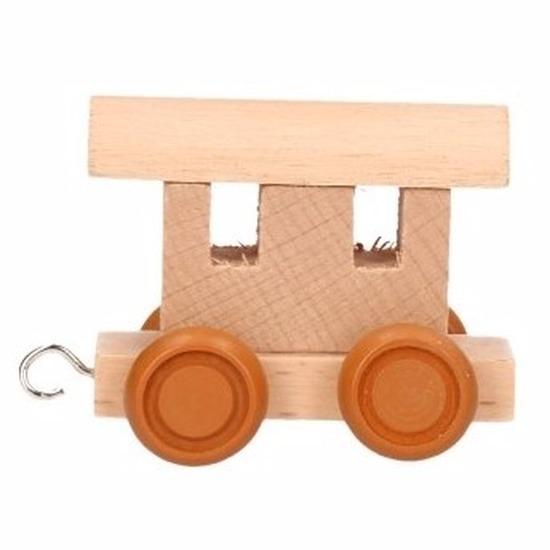 Speelgoedletters wagon