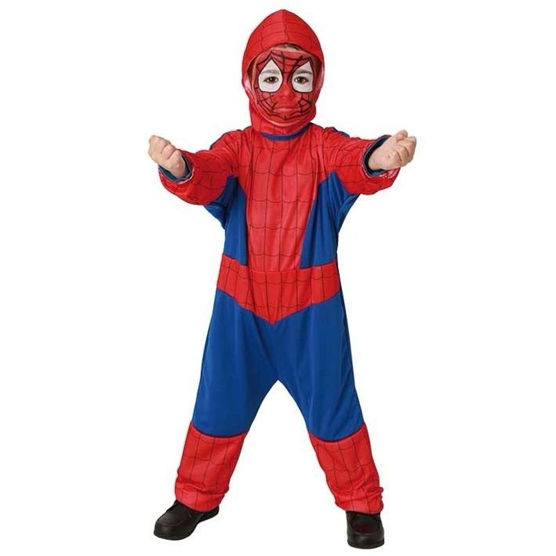 Spinnen held verkleed pak voor kinderen