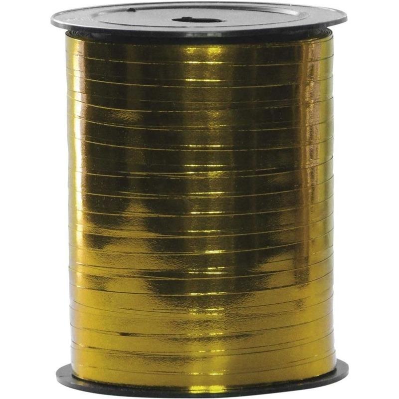 Spoel polyband goud 250 meter