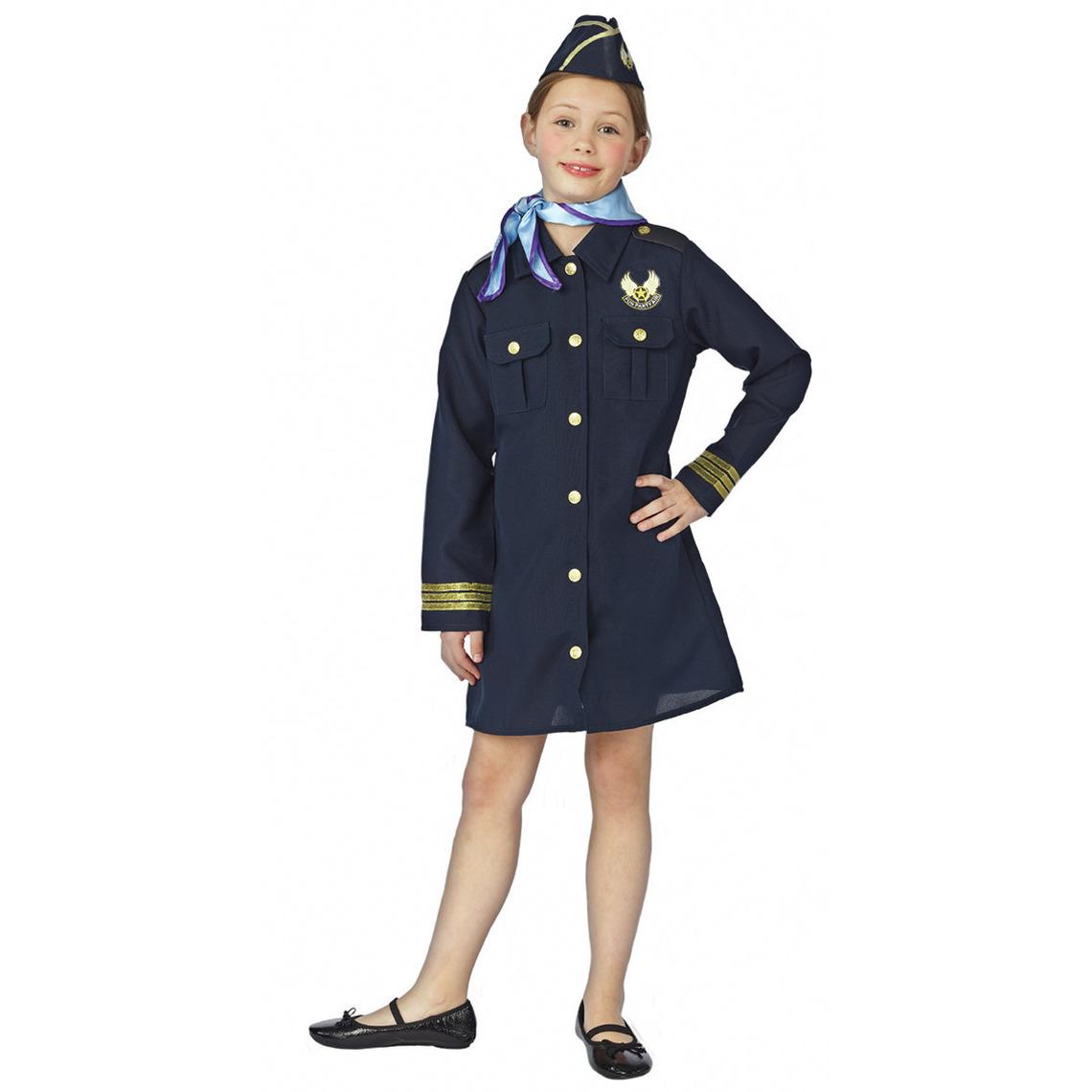 Stewardess kostuum voor meisjes