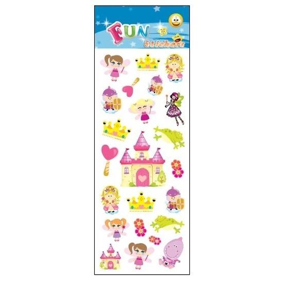 Stickervelletje prinsessen