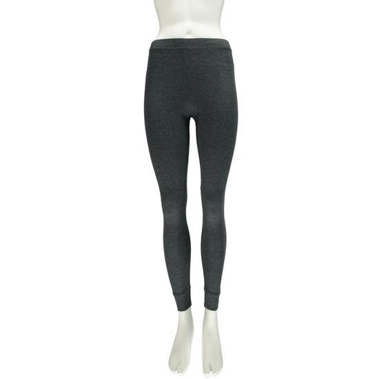 Thermo legging ondergoed voor dames antraciet grijs