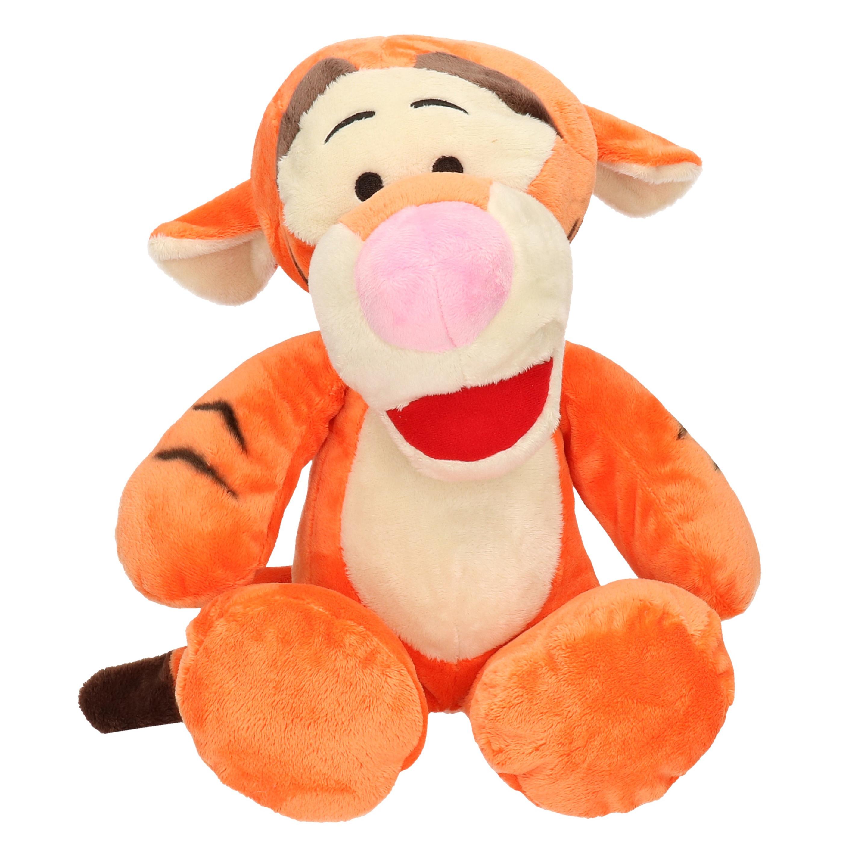 Tijgers speelgoed artikelen Disney Winnie de Poeh knuffelbeest Teigetje 34 cm