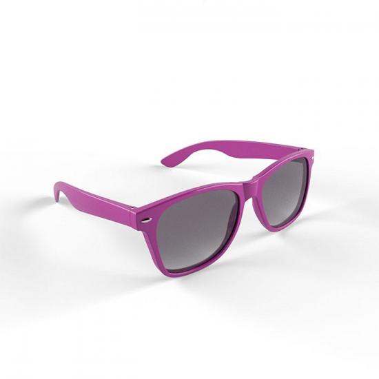 Trendy paars montuur zonnebril