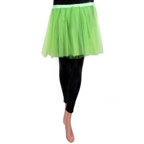 Tule rokje voor meisjes groen