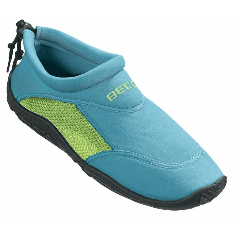 Turquoise - groen waterschoenen/ surfschoenen volwassenen