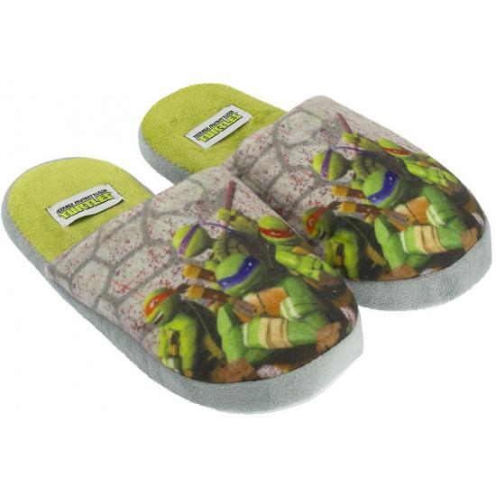 Turtles pantoffels grijs