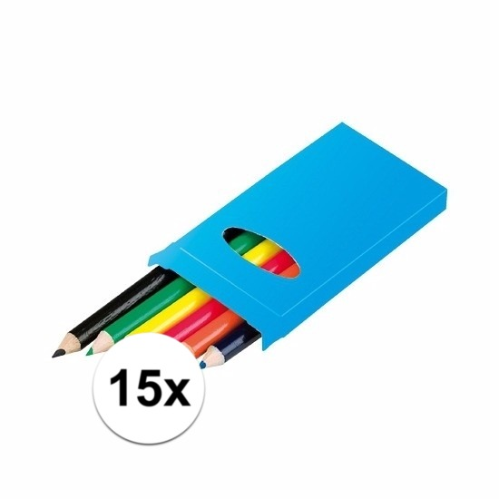 Uitdeel potloodjes 15 stuks