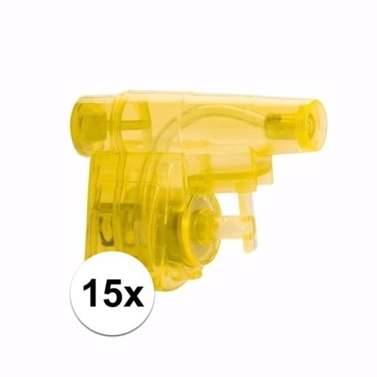 Uitdeel waterpistooltjes 15 stuks