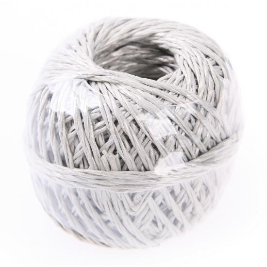 Veertig meter touw grijs