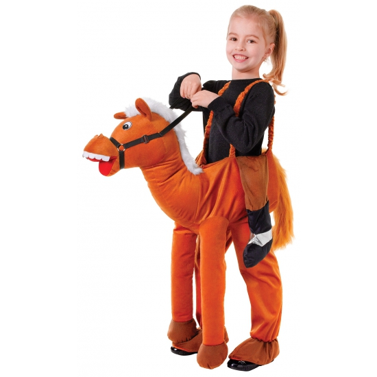 Verkleed stap in paard kostuum voor kids