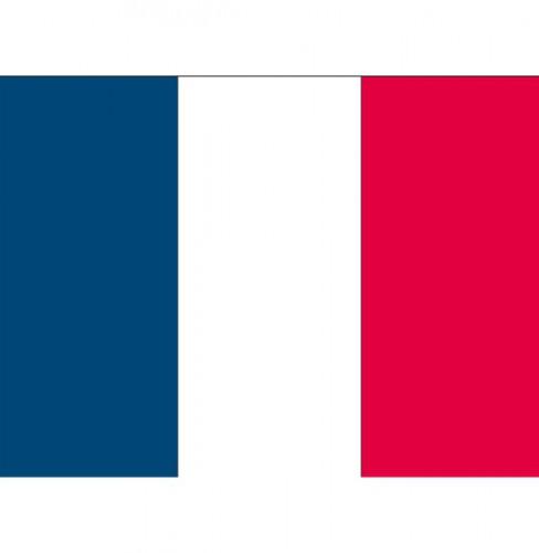 Vlag van Frankrijk plakstickers