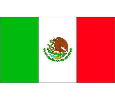 Vlag van Mexico plakstickers