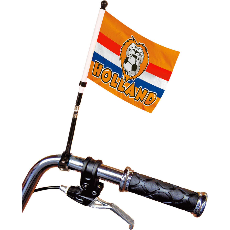 Voetbal fietsvlaggetje Holland