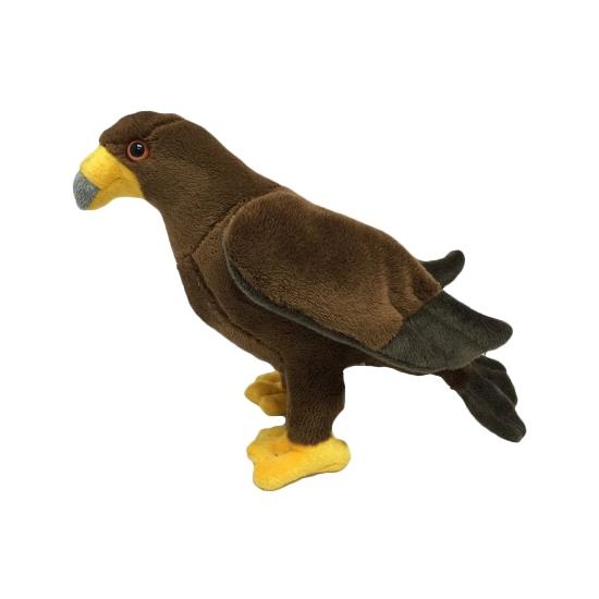Vogel knuffels arend 17 cm
