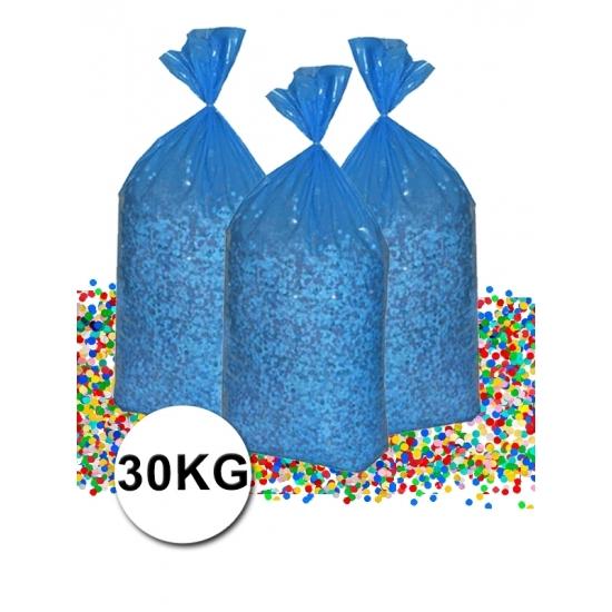 Voordeelverpakking gerecyclede feest confetti 30 kg