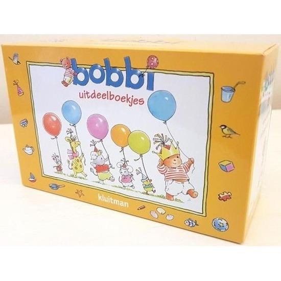 Voordelige uitdeel kadootjes Bobbi boekjes 12 stuks