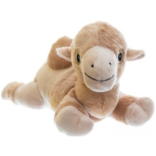Warme knuffel kruik kameel 18 cm
