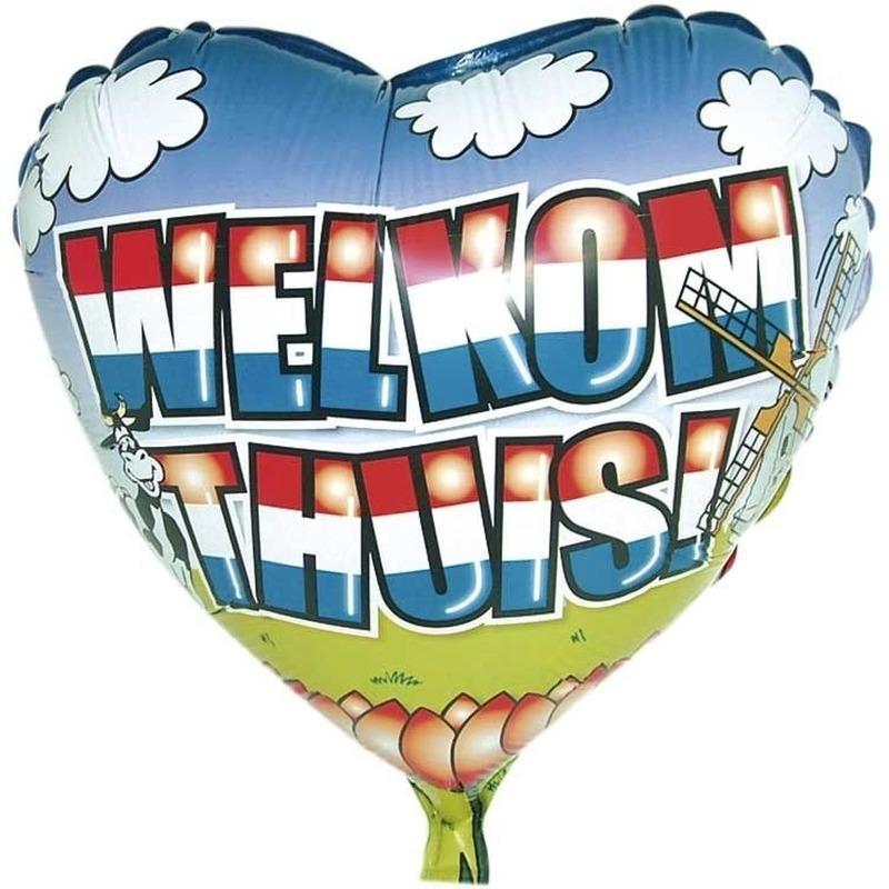 Welkom thuis folie ballon helium