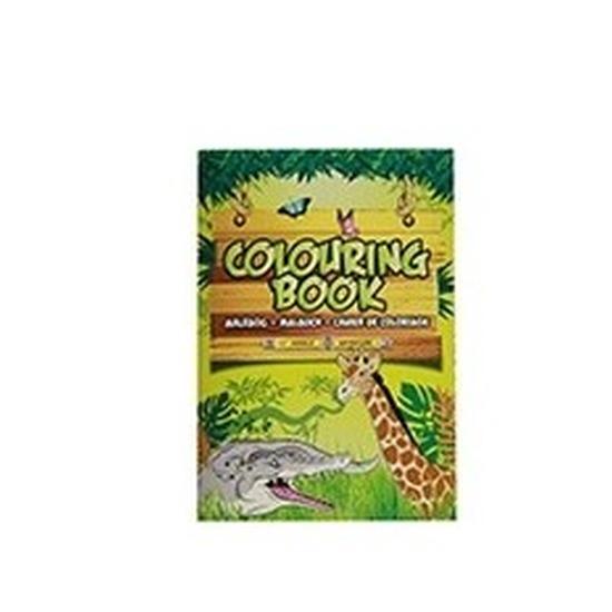 Wilde dieren speelgoed artikelen kleurboeken/tekenboeken A4 formaat