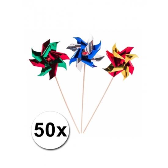 Windmolen cocktailprikkers 50x st