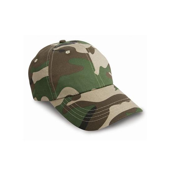Woodland army caps