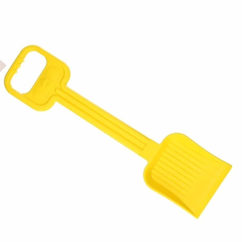 Zand/ strand schep 54 cm geel