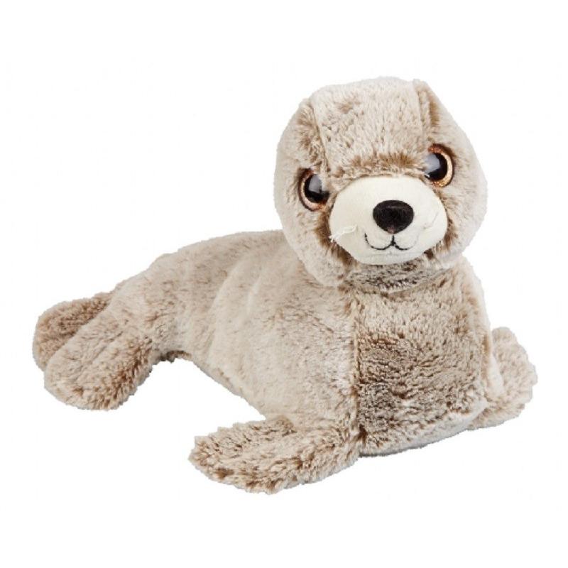 Zeehonden speelgoed artikelen zeehond knuffelbeest bruin 36 cm