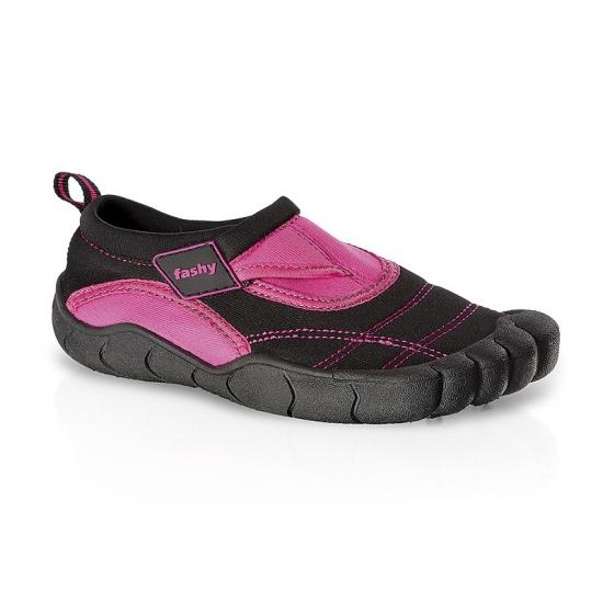 Zwart/roze waterschoenen voor kinderen
