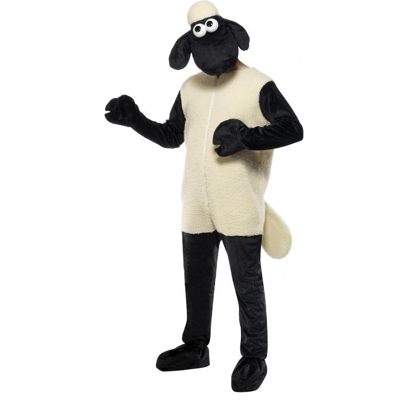 Zwarte schapen pak volwassenen